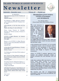 The IAS Newsletter reactivated – September 2020 Issue